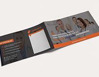 Bifold Brochure for employment agency