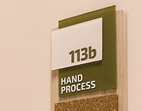 Wayfinding System - Fine Arts Building, Boise State