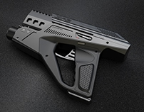 3D GAME PROP - ZP2 Assault Gun