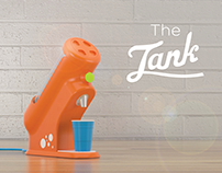 The tank - party dispenser