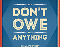 BSN - You Against Debt Poster Campaign