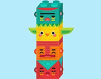 Lego-Totem