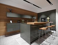 Kitchens design and visualization.