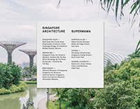 Singapore Architecture: Book