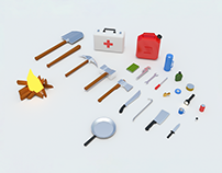 Survival Pack - Low Poly - [Free]