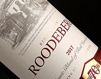 Roodeberg 70th Anniversary Packaging