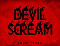 Devil Scream Decorative Font