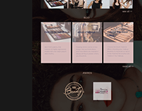 Clau makeup artist webdesign