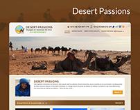 Redesign Desert Pasions Tourisme