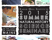 Trifold brochure: Natural History Science Seminars