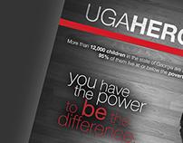 UGA HEROs Visual Rebranding