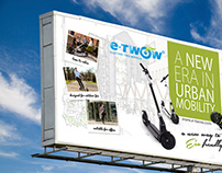 Outdoor & Print Design for eTwow