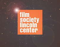 Film Society Lincoln Center Concept Design
