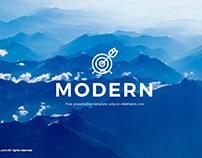 FREE POWERPOINT TEMPLATES | Modern