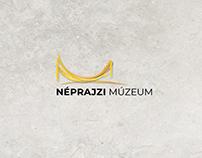 """Néprajzi Múzeum Budapest """"Színes etnográfia"""" logó"""
