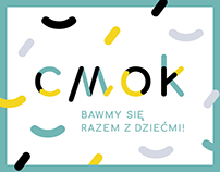 CMOK - visual identity for kids store