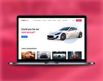 Car Lottery Template | FREE Figma