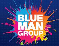 Blue Man Group - Rebrand