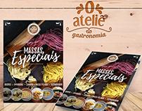 Folder O Ateliê Gastronomia