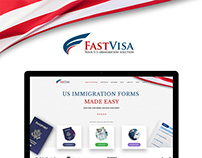 UI/UX for immigration website