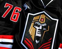 """HC """"Emperor"""" logo & home jersey"""
