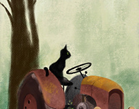 Cats & Barns