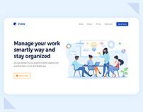 Landing Page | Task Management Tool