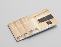 Comfort Short Stays brand and brochure