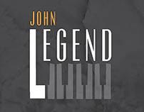 John Legend Concert Invite