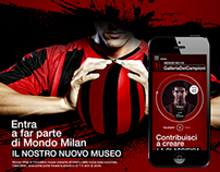 AC Milan FC // Casa Milan web