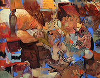 Solo Exhibition by Sterling Hundley: Familiar Interval