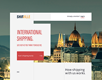 Shipville website redesign | Shipville