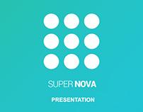 Supernova - Super Light Powerpoint Template