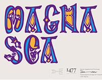 Magna Sea - Typeface Design
