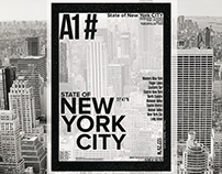 T-Shirt Print / New York City