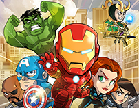 Marvel: Run, Jump, Smash