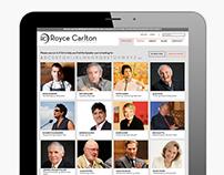Royce Carlton - Website Design