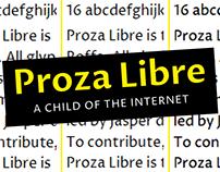 Proza Libre Typefamily