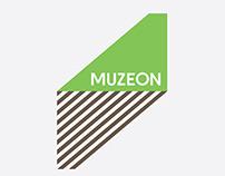 Muzeon Park's logo and brand identity