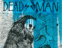 """Dead Man"", movie poster."