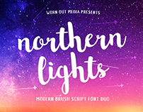FREE FONT DUO - Northern Lights