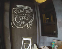 Monkeycup Cafe Murals