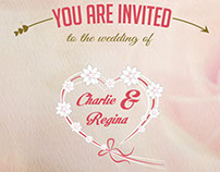 Free Video Wedding Invitation After Effects Template