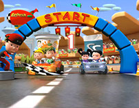 Refresh「CART RACES」