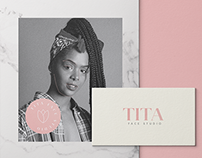 Tita Face Studio - Identidade Visual