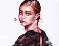 "Fashion Illustration ""THE MUSE"" CollectionVol.01"