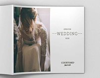 Courtyard Hotels Weddings Brochure