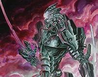 Cyborg enemy concept art