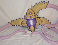 Handmade League of Legends Vel'Koz v1.43 Plush Pillow