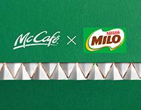 Milo Dinosaur X Mccafe